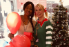 Selasi Okudzeto (left) and Julie Hennessy from Barnet and Southgate College's Hairdressing Department