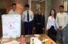 Business students at Brent cross Challenege